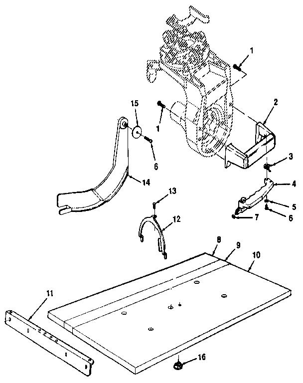 Craftsman model 113197250 saw radial genuine parts