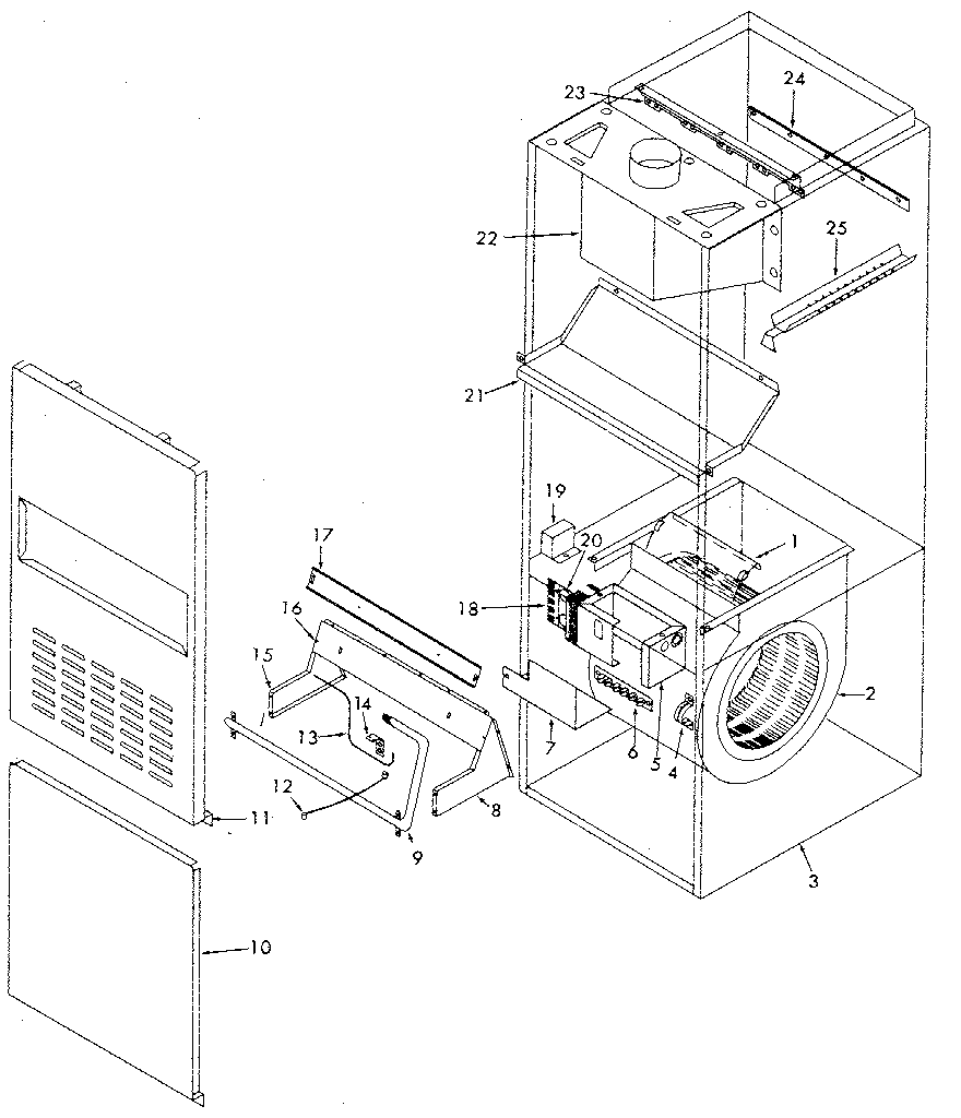 Kenmore model 867762262 furnace/heater, gas genuine parts