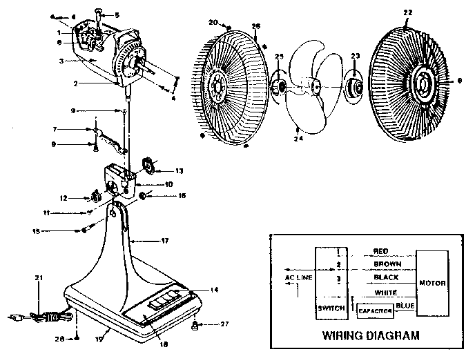 Table Fan Winding Connection Diagram Pdf