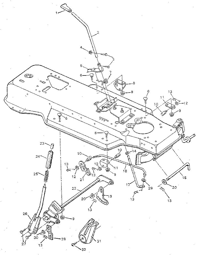 7 Hp Craftsman Lawn Mower Engine Diagram Tecumseh Lawn