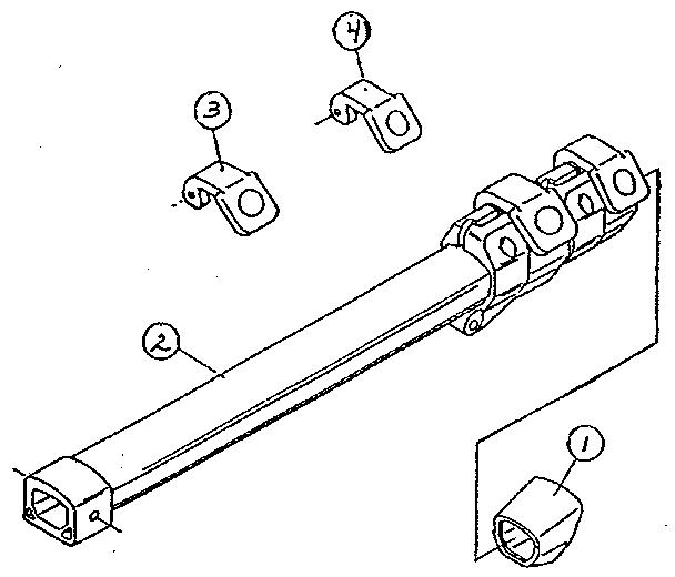 Sears model 46984044 tripod genuine parts
