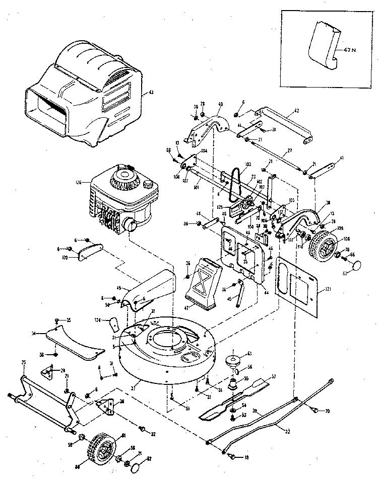 Mcclane model 21-5-BS-SP reel mower genuine parts