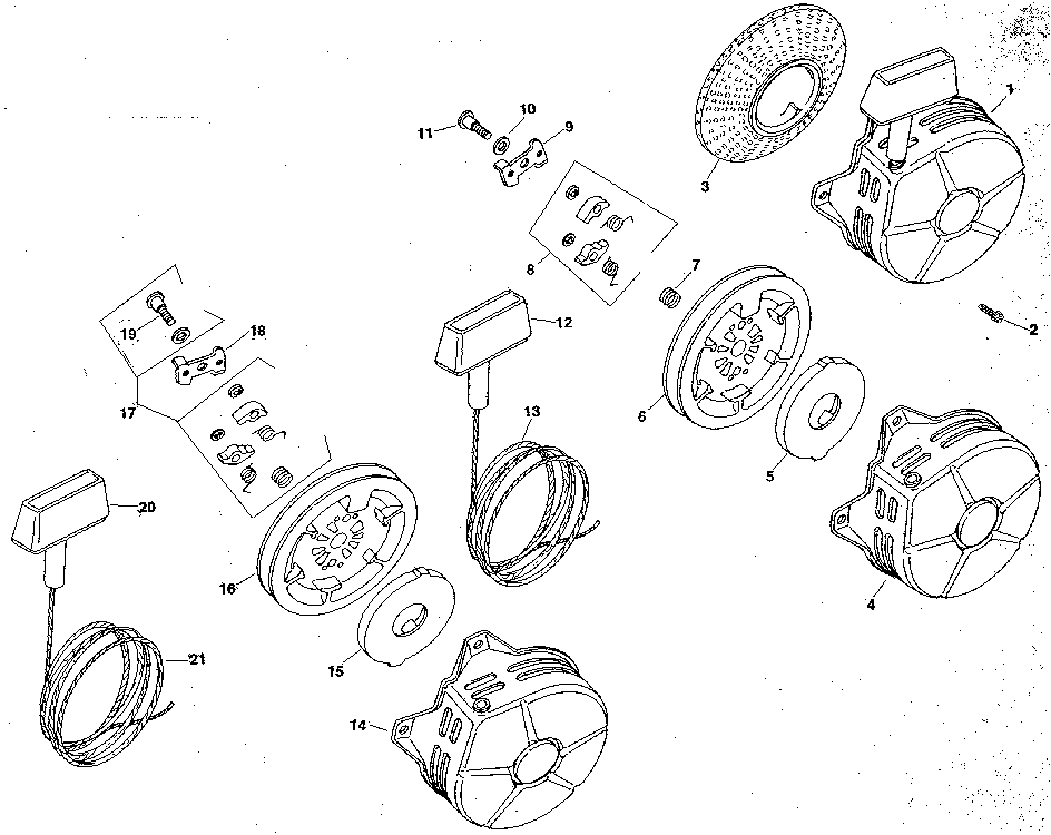 Kohler model M8ST-301549 engine genuine parts