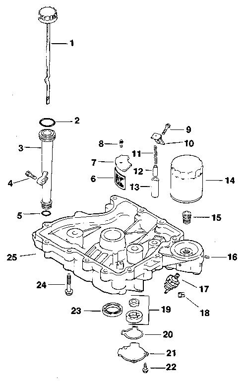 Kohler model CV12.5S-1247 engine genuine parts