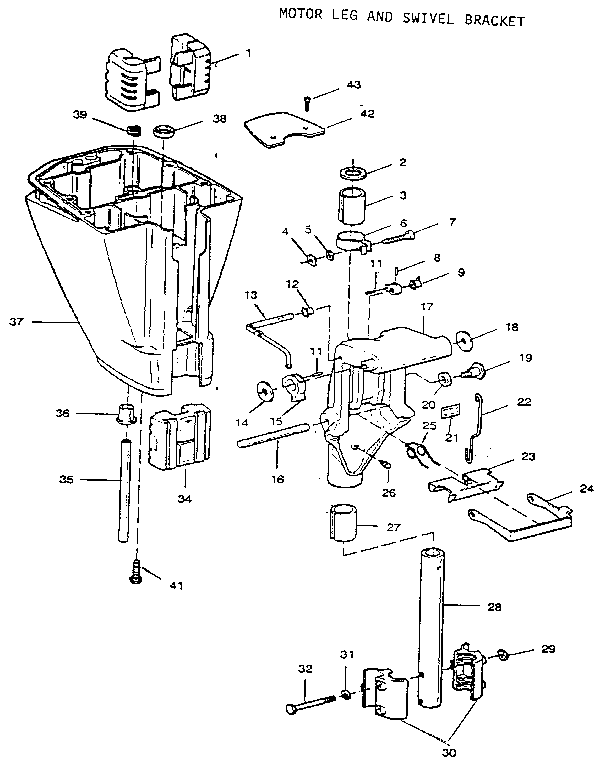 Craftsman model 225581503 boat motor gas genuine parts
