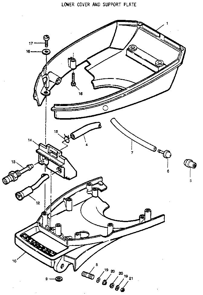 Craftsman model 225587503 boat motor gas genuine parts