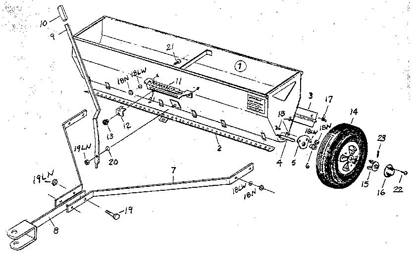 Craftsman model 610241941 tractor attachments genuine parts