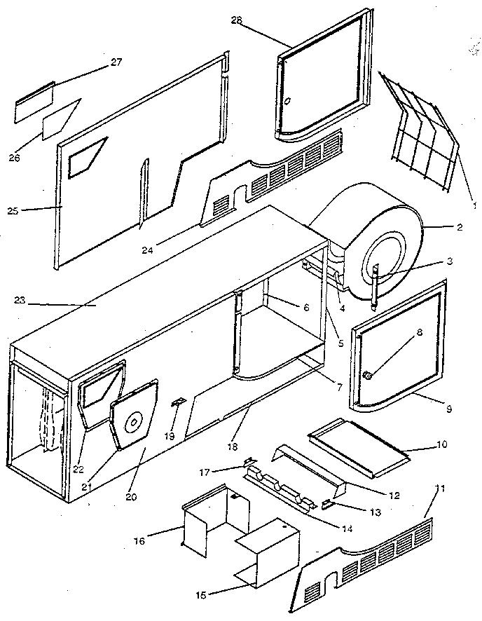 Icp model NHGE125BK01 furnaces/heaters genuine parts