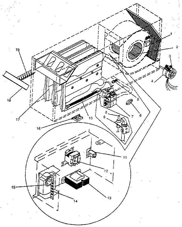 Icp model NHGG100AH04 furnaces/heaters genuine parts