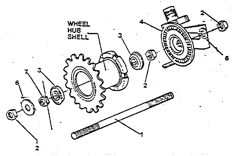 Roadmaster model 81170SR cycle genuine parts