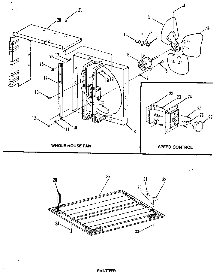 [DIAGRAM] Wiring Diagram For 2 Sd Whole House Fan FULL