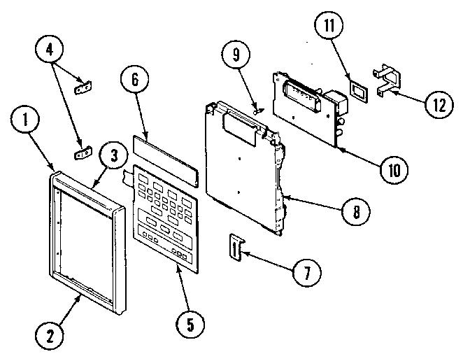 Jenn-Air model M416 countertop microwave genuine parts
