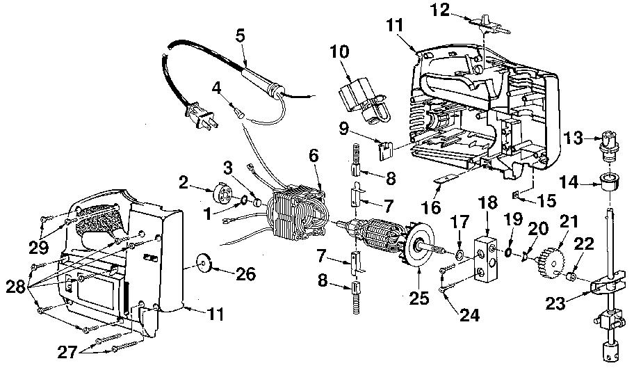 Craftsman model 315172070 saw scroll genuine parts