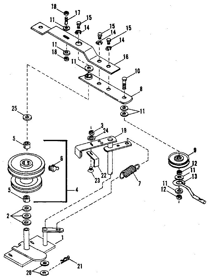 Craftsman model 842240729 snow thrower attachment genuine