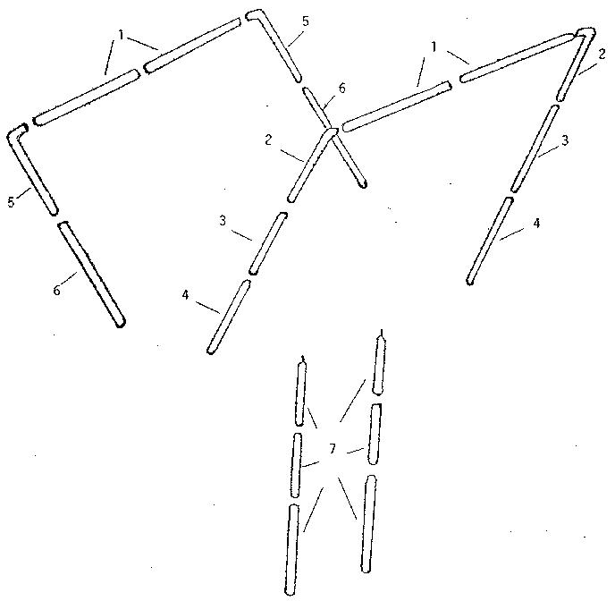 Winnebago model 19666 tents genuine parts
