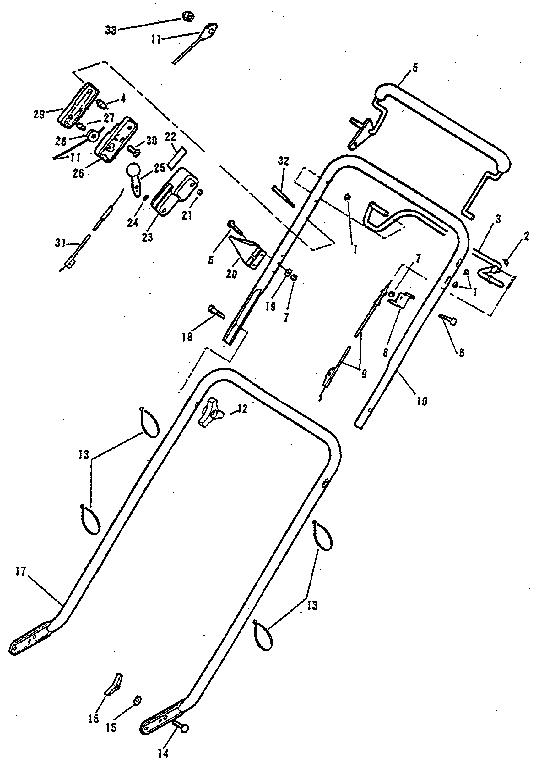 Lawn-Boy model 680541 walk behind lawnmower, gas genuine parts