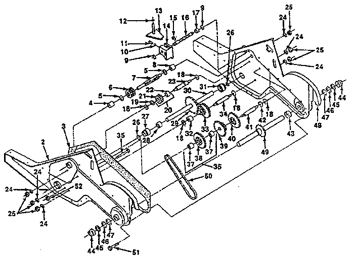 Craftsman model 917299643 rear tine, gas tiller genuine parts