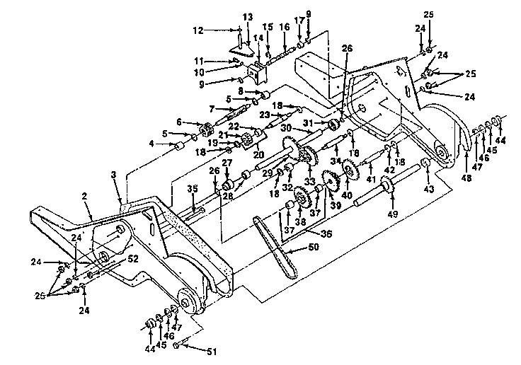 Craftsman model 917299691 rear tine, gas tiller genuine parts