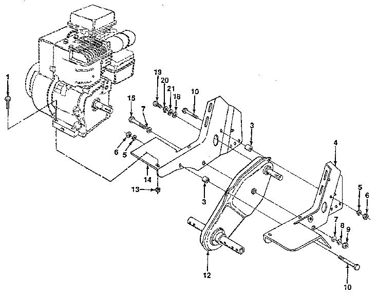 Craftsman model 917298330 front tine, gas tiller genuine parts