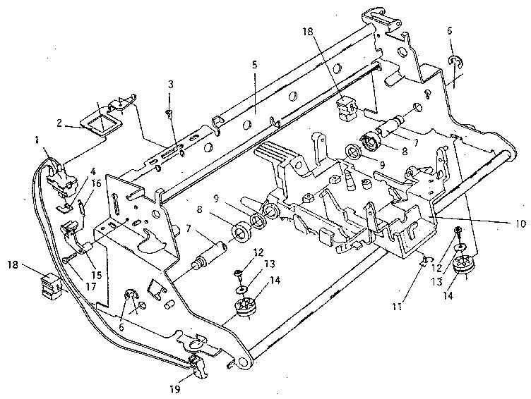 Smith-Corona model DEVILLE 650 typewriter genuine parts