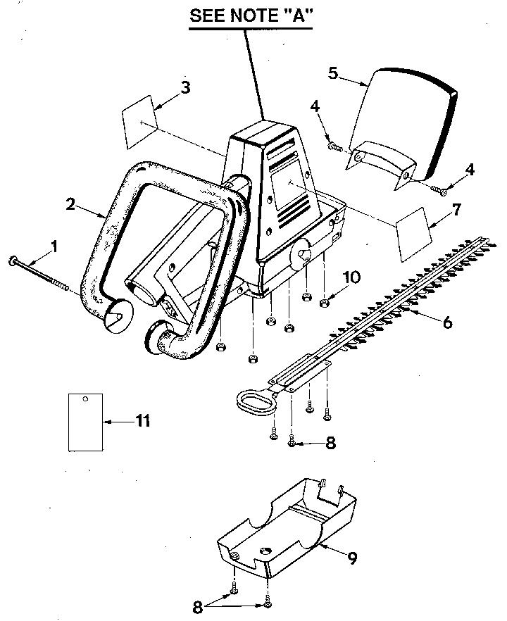 Craftsman model 315797650 trimmer genuine parts