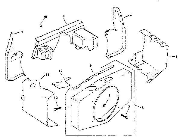 Kohler model M18S-24665 engine genuine parts
