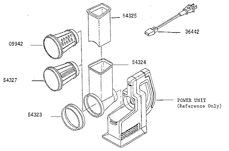 Presto model 0291001 kitchen equipment genuine parts