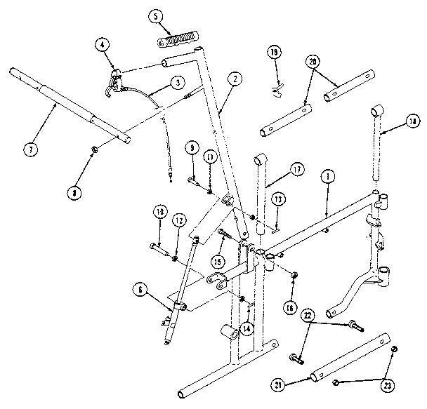 Everest-Jennings model MARATHON 5MC wheel chair genuine parts