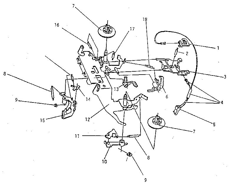 Smith-Corona model DEVILLE 800 typewriter genuine parts