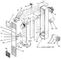 WILLIAMS WALL FURNACE Parts | Model 400DVXRLPG | Sears ...