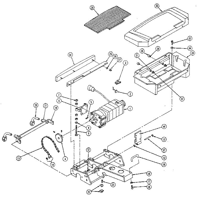 Everest-Jennings model CARRETTE SCOOTER scooter genuine parts