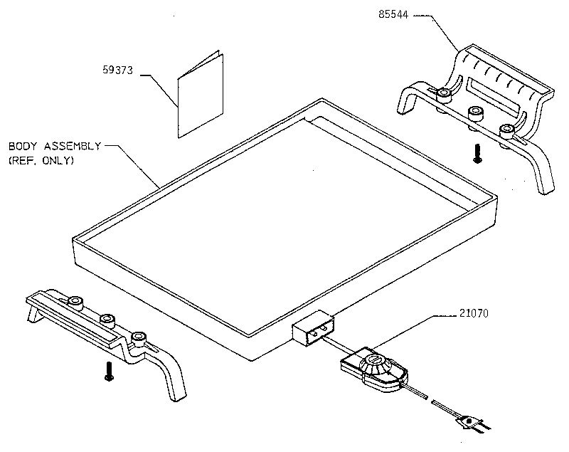 Presto model 07211 griddle genuine parts