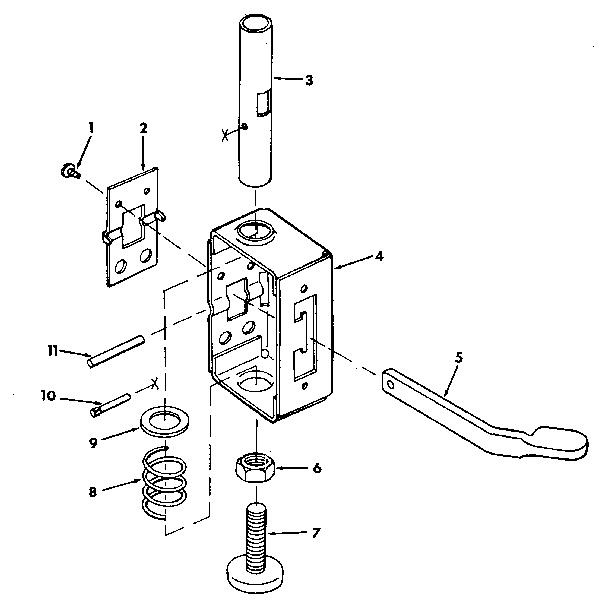 Craftsman model 113197710 saw radial genuine parts