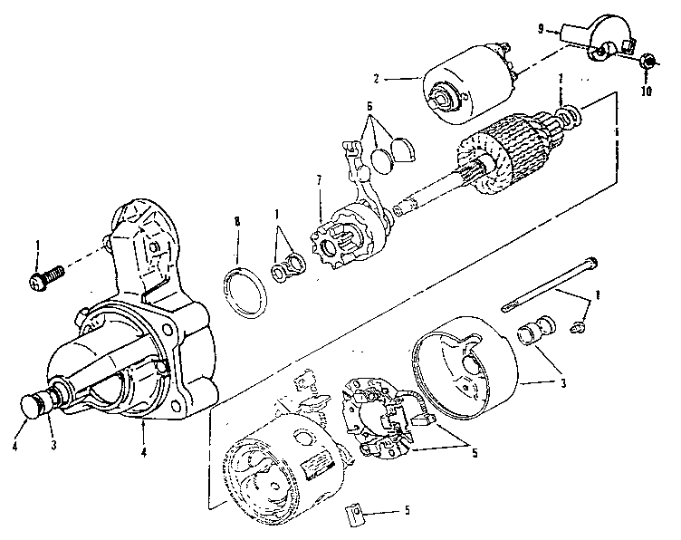 Onan model 110-3424-02 engine genuine parts