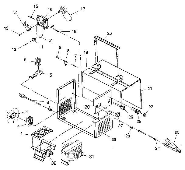 Unit Diagram And Parts List For Craftsman Welderparts