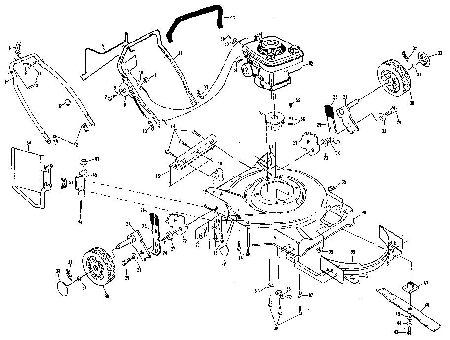 Rally Lawn Mower Parts Diagram Bolens Riding Lawn Mower