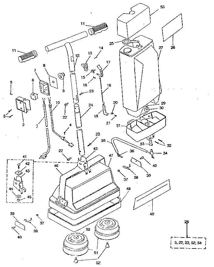 Kenmore model 6808897280 floor scrubbers/polishers genuine