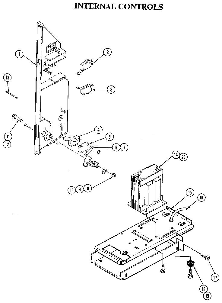 Jenn-Air model M166 countertop microwave genuine parts