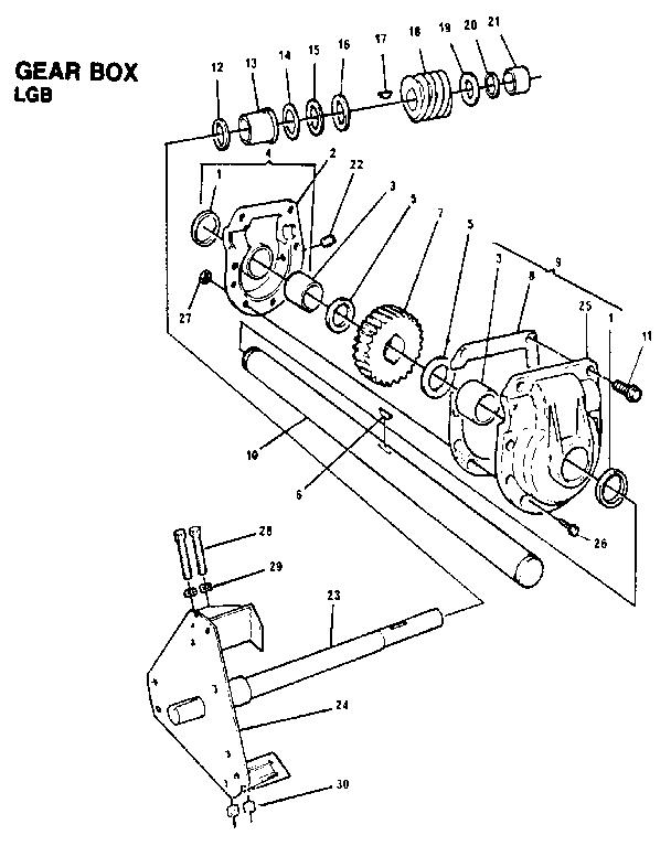 Dynamark model 826 snowthrower, gas genuine parts