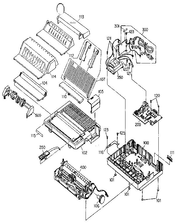 Epson model AP3000 computer/printer genuine parts