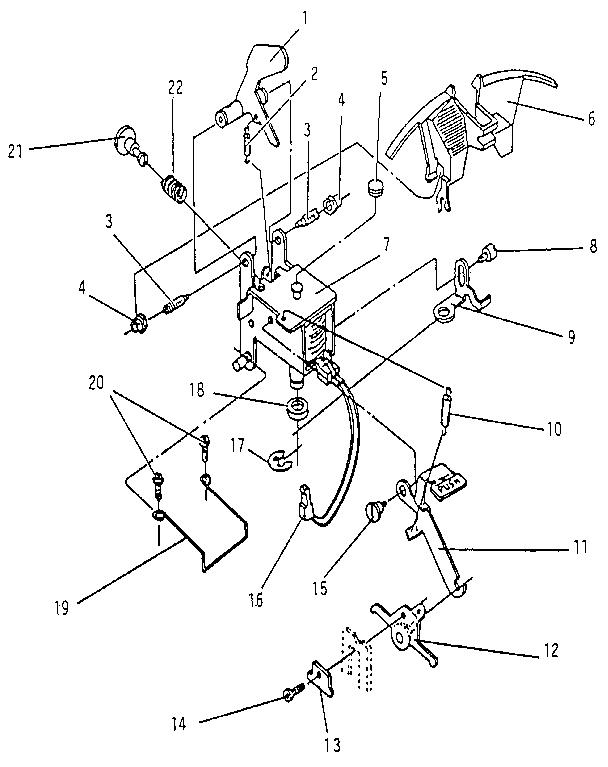 Smith-Corona model SL500 (5ACE) typewriter genuine parts