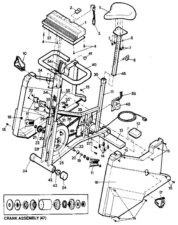 Lifestyler model 831287531 cycle genuine parts
