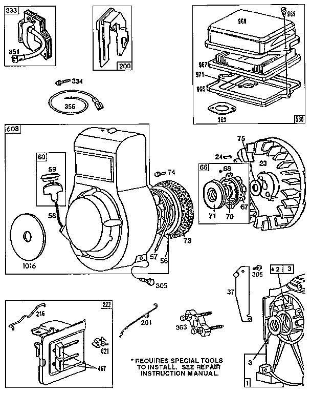 Briggs and stratton 80202 repair manual