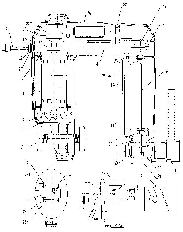 Craftsman model 2276 whirlpool bath genuine parts
