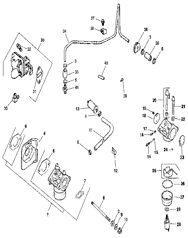 Kohler model CV14S-1445 engine genuine parts