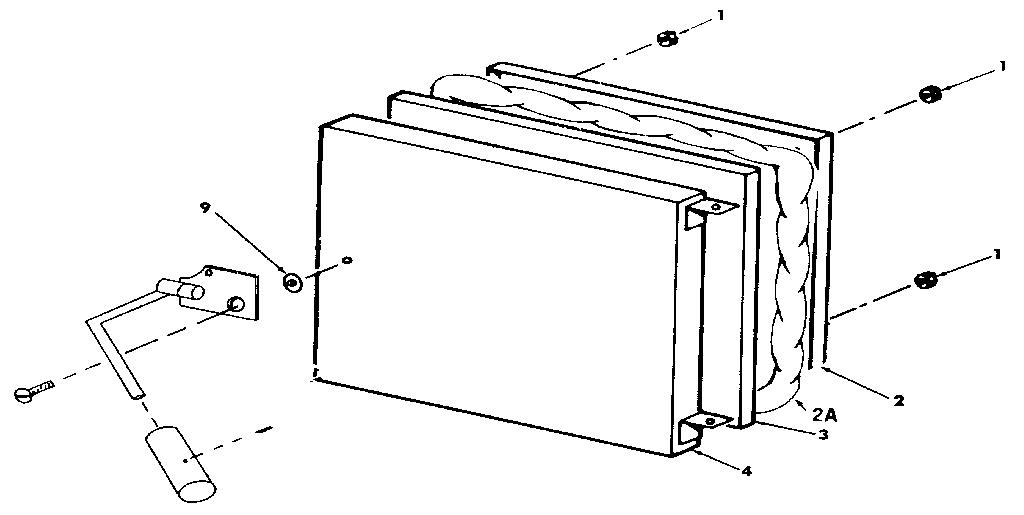 Yukon model LWG-112 furnace/heater, oil genuine parts