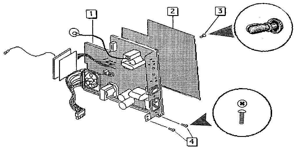 Apple model MAC CLASSIC computer genuine parts
