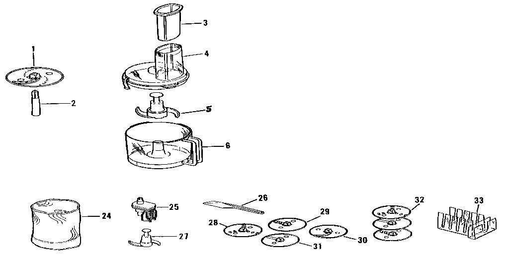 Regalware model 588 food processor genuine parts