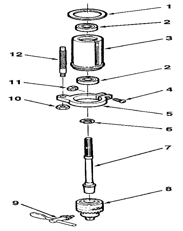 Craftsman model 113213100 drill press genuine parts