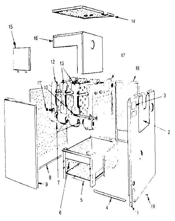 Dunkirk model XEB-2 boiler-storage tanks genuine parts